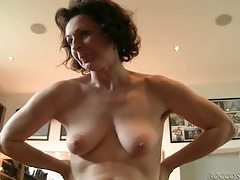 Hairy vagina mature sits on your dick tubes
