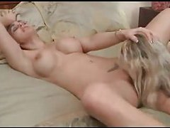 Milf has the young lady go down on her tubes