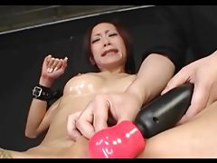 Roped Asian Made To Orgasm tubes