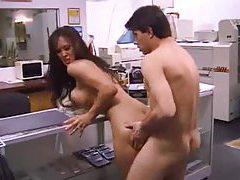 Asia Carrera fucked in the print shop tubes