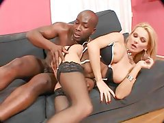 Black and white guy use the big ass white girl tubes
