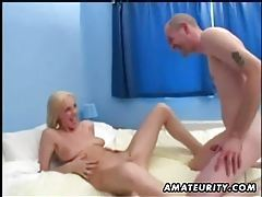 Amateur blonde girlfriend homemade anal with facial cumshot tubes