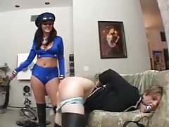 Sophie Dee dominates a submissive girl tubes