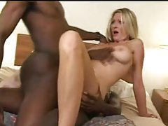 Milf drinking cumshots from black dicks tube