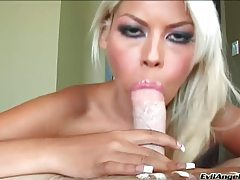 Sexy pink lips around your dick in POV tubes