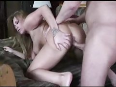 Shaved curvy chick with big titties fucked tubes