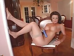 Erotic tease and pussy play with a redhead tubes