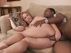 Fatty and the black man make anal porn tubes