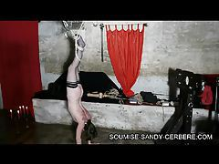 video sm bondage fouet soumise sandy submissive sandy tubes