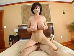 Creamy cumshot on the milf slut Deauxma tubes