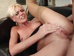 Cute little titties blonde girl fucked in the ass tubes