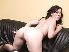 Big ass French slut fucked up the ass tubes