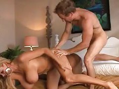 Curvy bitches nailed in a hardcore threesome tubes