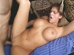 Curvy short hair brunette fucked in the shaved cunt tubes