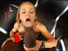 Latex corset on slut for big black cock tubes