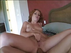 Redhead hardcore sex in the bedroom tubes