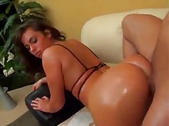 Naomi Russell oiled up hardcore anal sex tubes