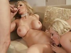 Julia Ann and Alexis Texas threesome scene tubes