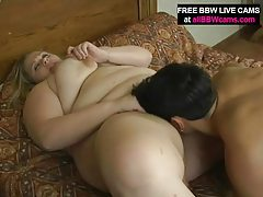 Juicy Bbw Fucks Up Her Cunt And Giant Tits Part 1 tubes
