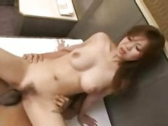 Japanese sex scene ends in creampie tubes