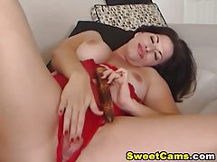 Big Tits Horny Babe Dildo Masturbating HD tubes
