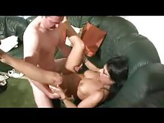 Sensually screwing curvy milf in glasses tubes