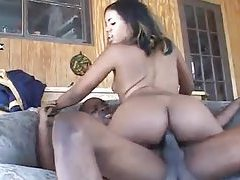 All ebony anal sex for this slender slut tubes