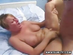 Mature amateur wife homemade anal with facial cumshot tube