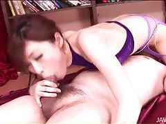Young cocksucking Japanese girl is gorgeous tubes