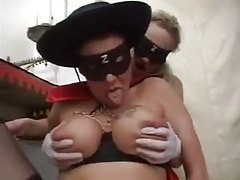 Masked amateur fisted in the pussy tubes