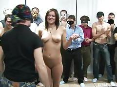 BUSTY GIRL AT CZECH GANG BANG PARTY tubes