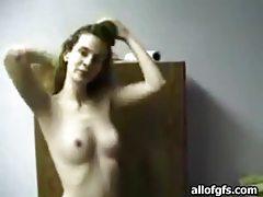 Saucy blonde amateur gives sensual blowjob tubes