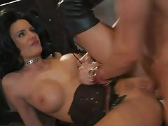 Hot dominatrix chick in boots fucked hard tubes