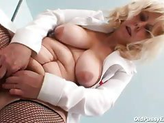 Fat mature nurse wants you to see her pussy tubes