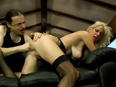 Rough sex with a blonde whore tubes