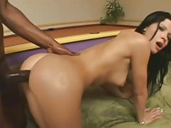 Rebeca Linares interracial double penetration tubes