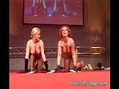 Big tits drunk strippers teas tubes