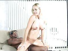 Blonde rides her black boyfriend cock tubes