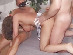 Amateur milf enjoys sampling many hard cocks tube