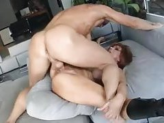 Leggy redhead milf gets her ass pumped hard tubes