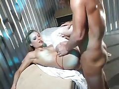 Anal fucking with sexy nurse slut Harmony Rose tubes
