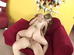 She loosens her anus for a big cock tubes
