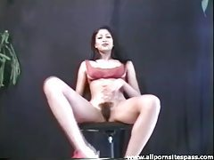 Gorgeous slender Indian models her pussy tubes