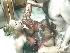 Food sex with a cute amateur blonde tubes