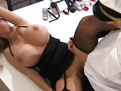 Man in uniform fucks total bimbo milf tubes