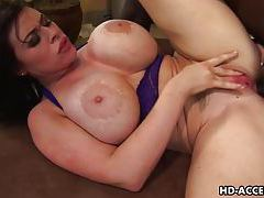 Busty whore Daphne Rosen interracial sex! tubes