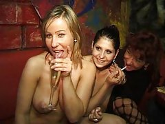 Swingers party with sexy milfs taking dick tubes