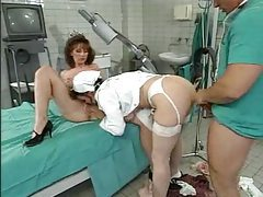Doctor and nurses get naughty tubes