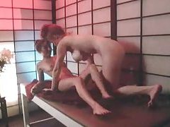 Lesbian sex at the massage parlor tubes