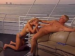 Gorgeous blonde porn slut gives hot head outdoors tubes
